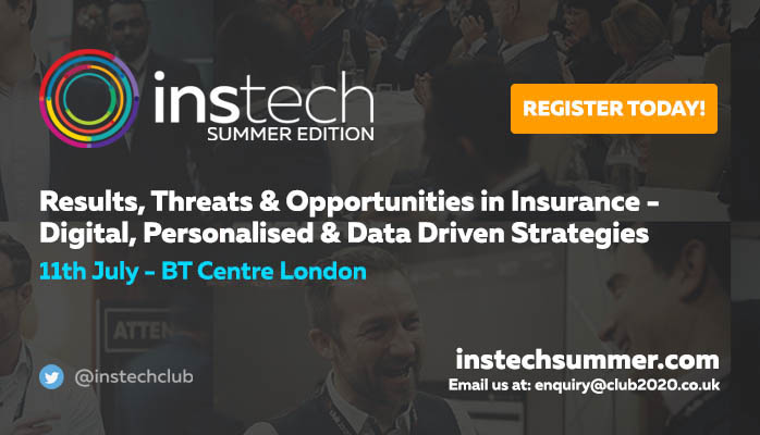 InstechSummer - Results, Threats & Opportunities in Insurance - Digital, Personalised & Data Driven Strategies