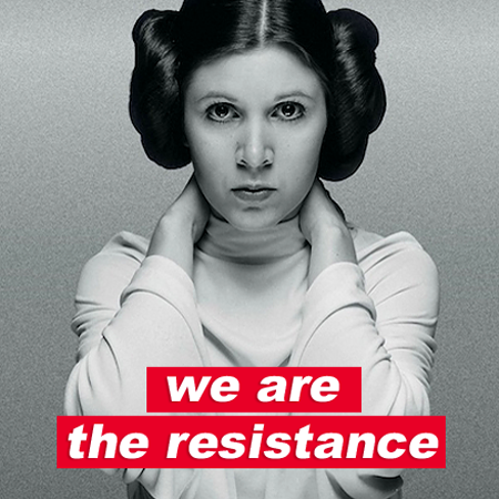 Princess Leia on Insureblocks