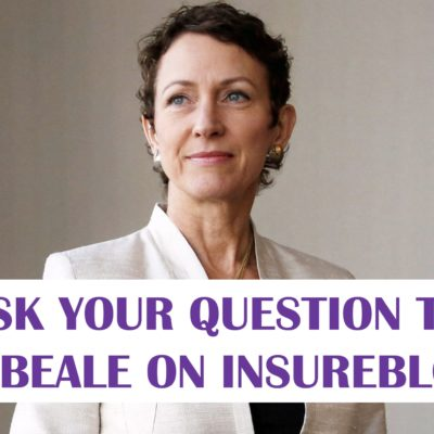 Ask your question to Inga Beale, CEO of Lloyd's of London!!!