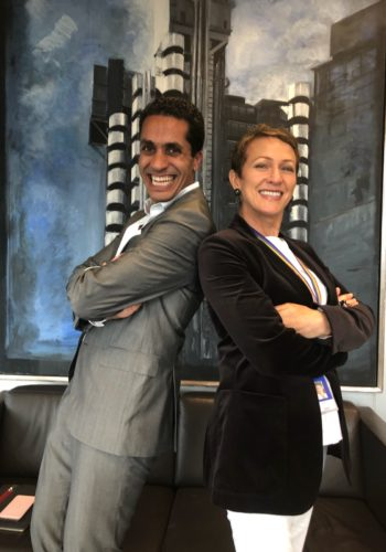 Inga Beale & Walid Al-Saqqaf on Insureblocks